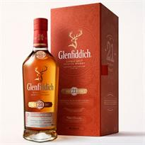 Glenfiddich Scotch Single Malt 21 Year Grand Reserva Rum...